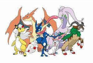 Pokemon Kalos Team