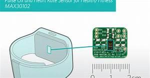 Pulse Oximeter  Heart Rate Sensor Module For Wrist