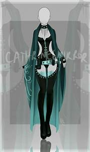 closed adopt auction outfit 8 by cathrine6mirror art With robe de sorcier