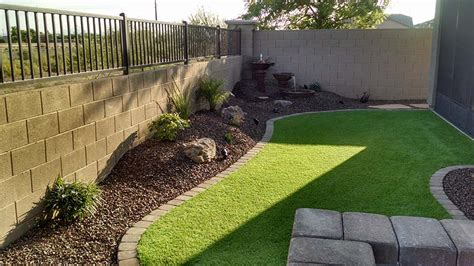 small backyard landscaping az living landscape design
