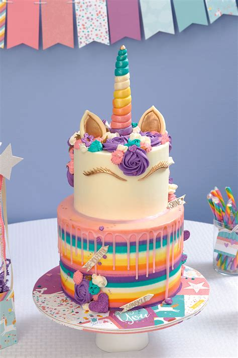unicorn party takes  cake     heart