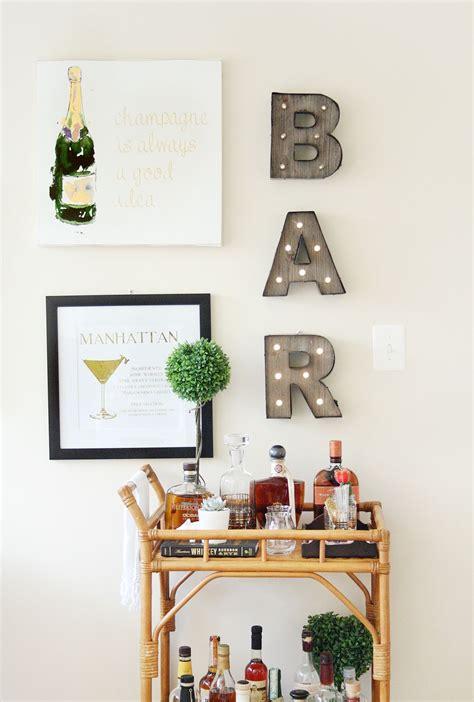 home bar decor turn  boring living room corner