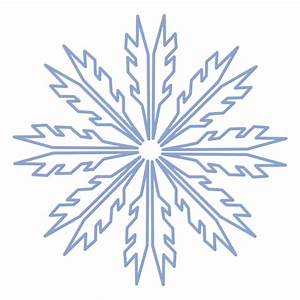 Snowflake winter stroke - Transparent PNG & SVG vector