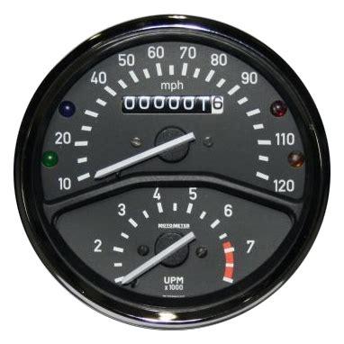 62111351597 62 11 1 351 597 5 r75 5 bmw r airhead speedometer tachometer instrument