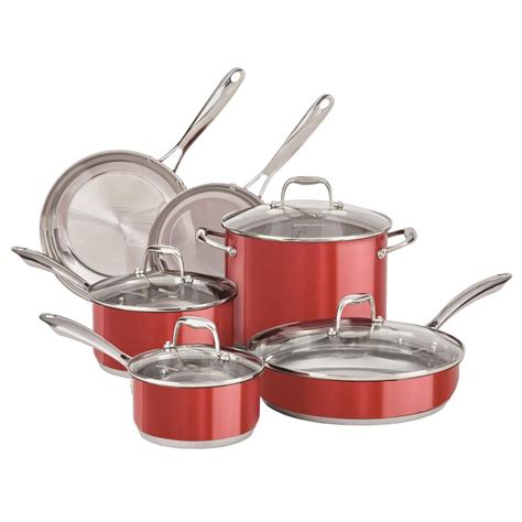 cookware stainless steel sears sets