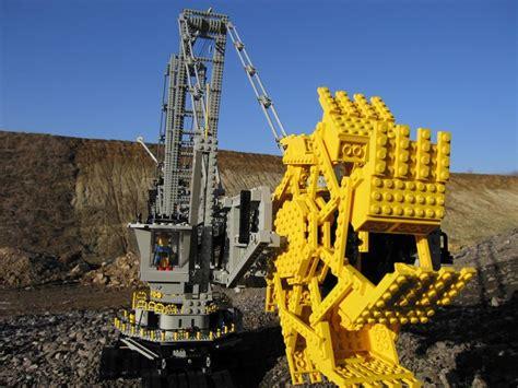 bucket wheel excavator world  bricks holger matthes