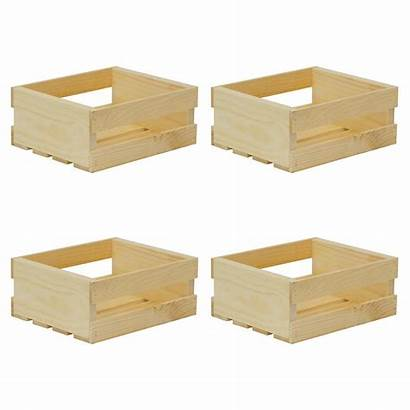 Crates Pallet Crate Wood Wooden Unfinished Storage