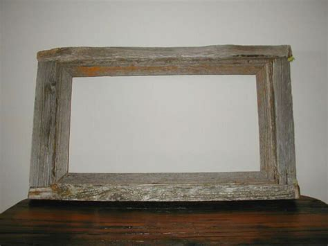 barn wood picture frames rustic barnwood and log picture frames