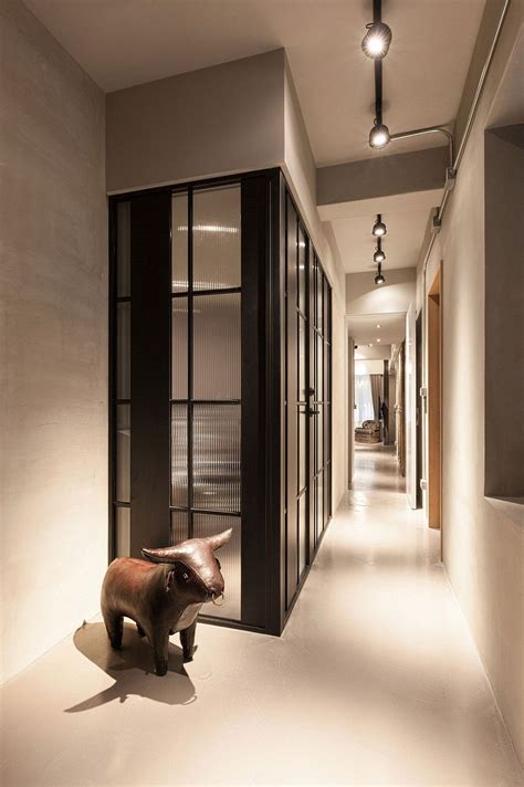 Small Home With Smart Use Of Space Taiwan by Vintage Industrial Apartment Makeover By Chi Torch