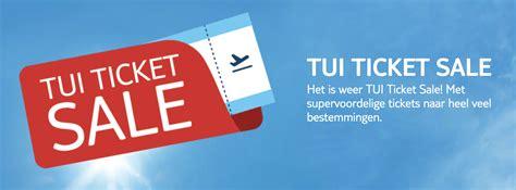 tui ticket sale  nu vliegtickets va  pp op op