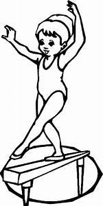 gymnastics bars coloring pages sketch coloring page With cantilever beam