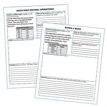 Common Core Worksheets For 6Th Grade Math
