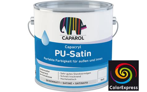 caparol satin 20 caparol capacryl pu satin 660 2 ral e2 effect 0 35 liter
