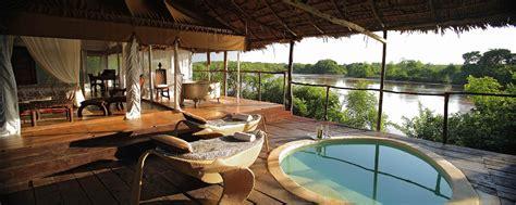 luxury tanzania safari lodges   stay  safari