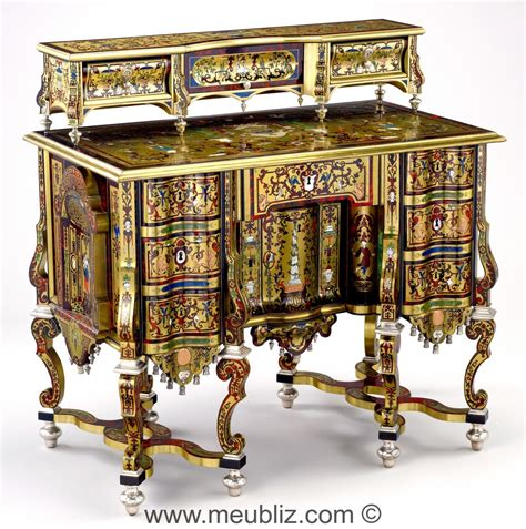 bureau louis xiv bureau mazarin louis xiv à pieds en console meuble de style