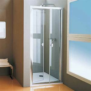 Porte de douche new cee 2 battants 68 a 120 cm for Porte douche 68 cm