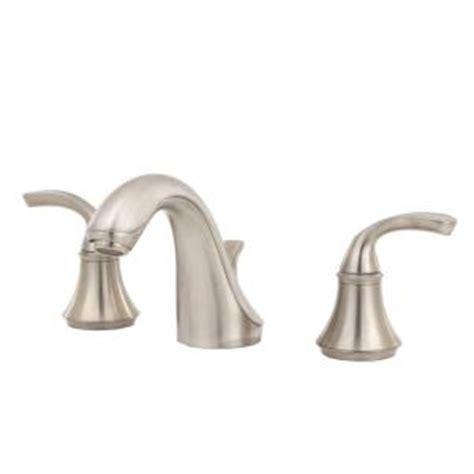 Kohler Forte Bathroom Faucet Brushed Nickel by Kohler Forte 8 In Widespread 2 Handle Low Arc Bathroom