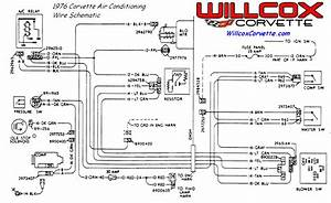 1976 Corvette Air Conditioning Wire Schematic