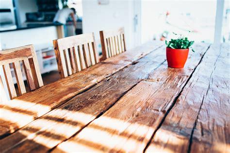 Esstisch Aus Gerüstbohlen by Diy Tisch Aus Balken Wohn Design