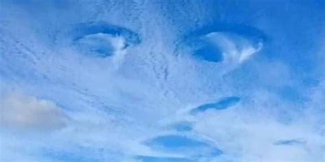'eye-cloud?' Stunning Photos Show Incredible 'face-shaped