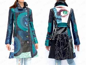 manteau desigual trendyyycom With robe fourreau combiné avec pandora boutique solde
