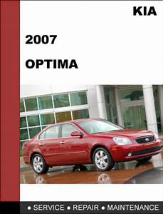 Kia Optima 2007 Factory Service Repair Manual Download