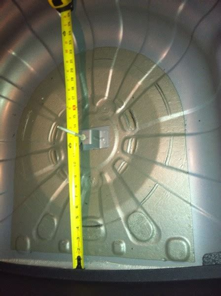 Spare Tire Area Picture Page