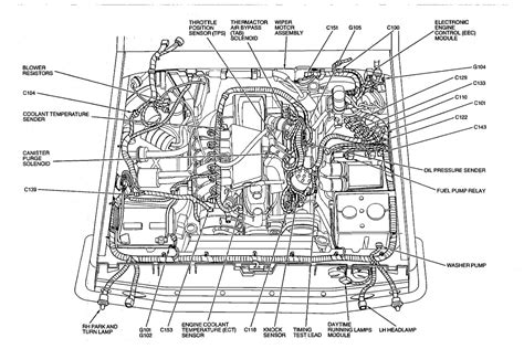 1990 Ford F 250 5 0 Fuse Diagram by 1989 Ford F150 Fuel Line Diagram Wiring Diagram Database