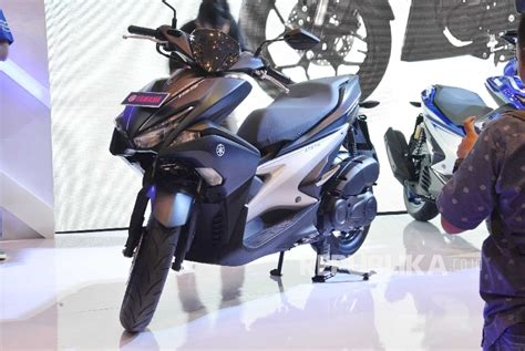 Yamaha Aerox 155vva Picture by Yamaha Aerox 155vva Kini Hadir Di Indonesia Republika