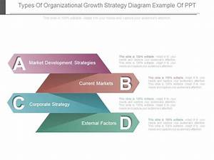 Types Of Organizational Growth Strategy Diagram Example Of