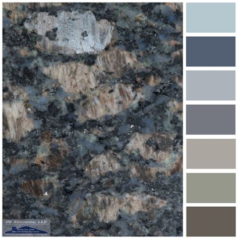 sapphire blue granite de color palettes pinterest