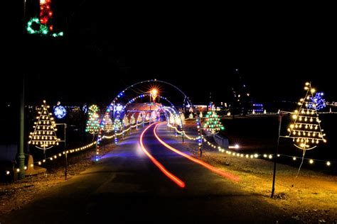 must see light shows across carolina