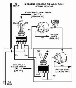 Wiring Hot Rod Turn Signals Diagram