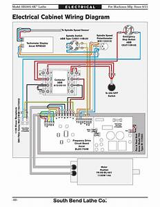 Electrical Cabinet Wiring Diagram  Lathe