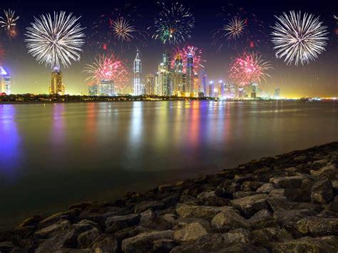 night  dubai united arab emirates stones skyscrapers