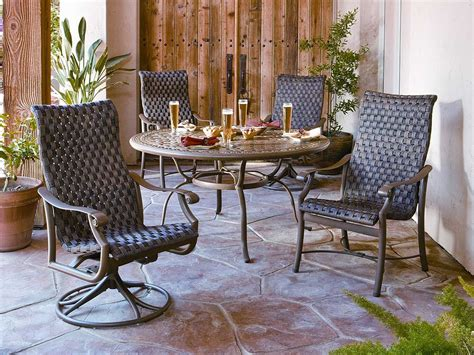 tropitone montreux woven dining set mtwds3