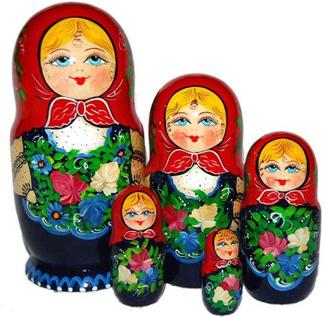 cuisine traditionnelle russe poupées russes