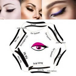 cat eyeliner stencil 1pc style cat eyeliner stencil kit 6 model for