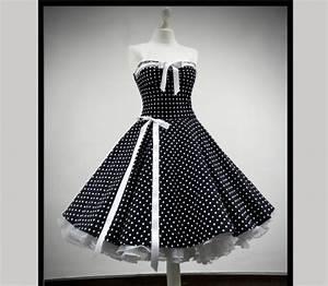 Schnitt Berechnen Punkte : rockabilly kleid petticoat punktekleid 50er 60er jahre stil rockabillymode ~ Themetempest.com Abrechnung