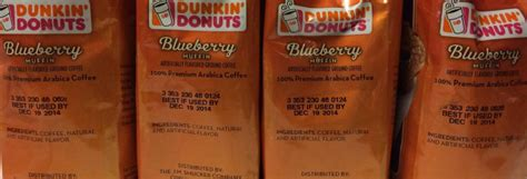 See unbiased reviews of dunkin' donuts, ranked #180 on tripadvisor among 547 been missing my weekly morning walk to dd for medium coffee & blueberry muffin, yum, never a long wait, friendly staff and fresh blueberry muffin. Dunkin Donuts Blueberry Muffin Flavored Ground Coffee (4) Bags 1 Crazy Price - Flavored Coffee