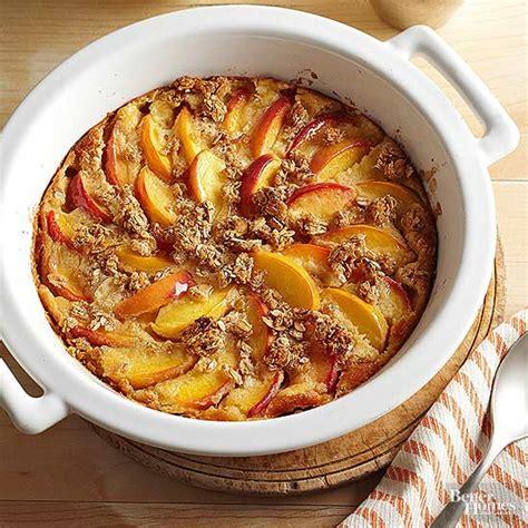 Peach Breakfast Gratin
