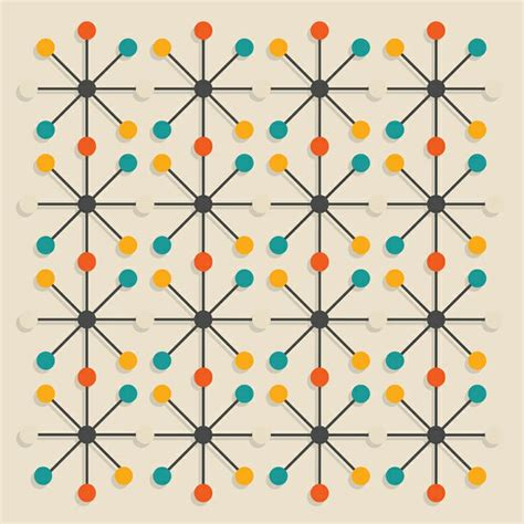 mid century modern pattern mcm artistic moments
