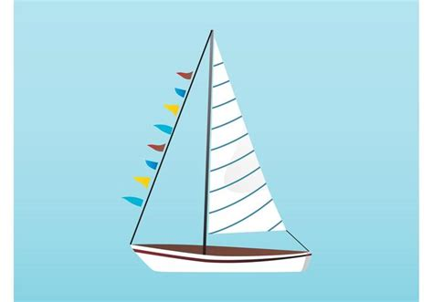 Sailboat Vector by Boat Vector Free Vector Stock Graphics