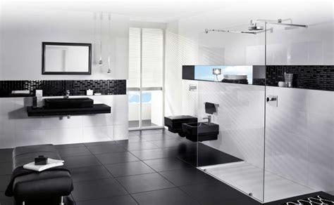 cool black  white bathroom design ideas