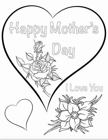 Coloring Mothers Pages Mother Printable Sheets Grandma