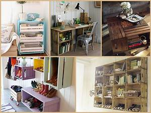 Recycled Wood Crate Projects – DIY Furniture Ideas - YouTube