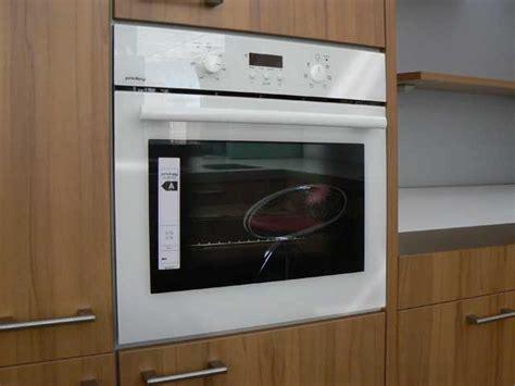 Miele Einbaubackofen Weiß by Backofen Wei 223 Glasfront Autark K 252 Che Einbaubackofen Neu Ebay