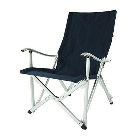 chaise pliante en aluminium luxury comfort chair fauteuil pliante portatif en aluminium bleu jardin mobilier de
