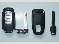 A4allroadSchlüssel Vorichtung im Handschuhfach des S5