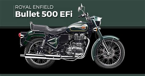Royal Enfield Bullet 500 Efi by 2017 Royal Enfield Bullet 500 Efi Now Available In India